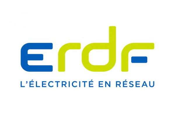 ERDF l'électricité en réseau logo