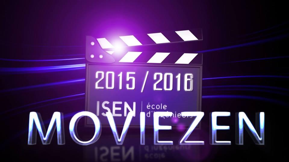 Logo club vidéo ISEN Brest, montages vidéos, suivi soirées, sorties cinéma