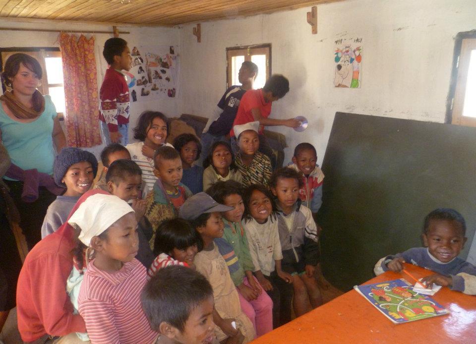 Enfants, madagascar, école, construction, solidarité, soutien, club ISEN Brest,
