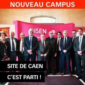 inauguration ISEN Yncréa Ouest - Site de Caen