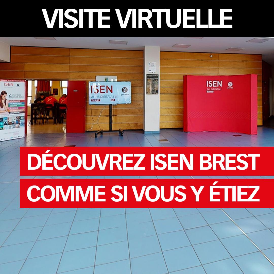 Visite virtuelle ISEN Brest